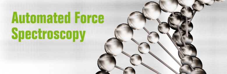Key Visual Automated Force Spectroscopy